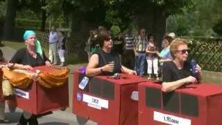 preview picture of video 'Festzug beim Viehmarkt in Zierenberg'