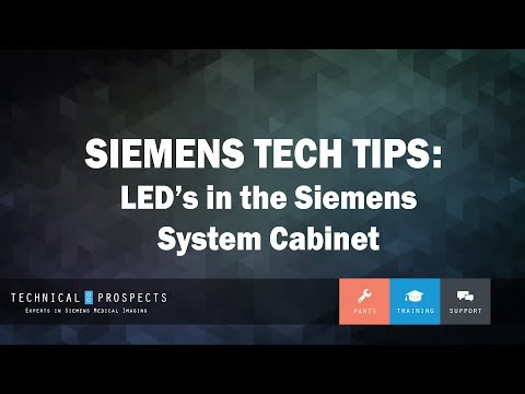 LED's in Siemens System Cabinet