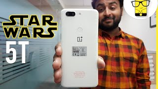 OnePlus 5T Holographic Unboxing - Star Wars Edition! Secret Gift in the Box
