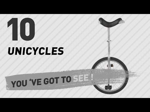 Top 10 Unicycles // New & Popular 2017