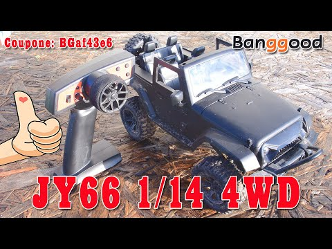 JY66 1/14 4WD RC Car For Jeep Off-Road