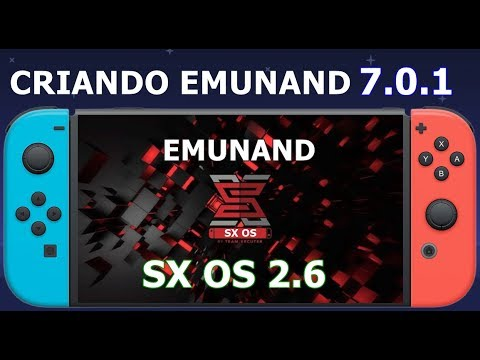 HOW TO SET UP EMUNAND ON SX OS 2 0 - NINTENDO SWITCH CFW