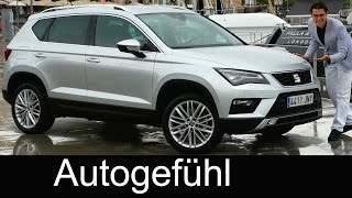 Seat Ateca FULL REVIEW test driven all-new SUV neu VW Tiguan sister