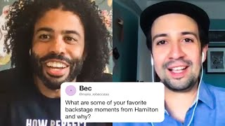 The Hamilton Cast Answers Hamilton Questions From Twitter   Tech Support   WIRED