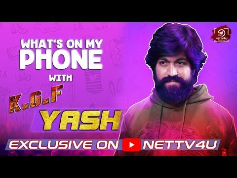Yash Interview | What's On My Phone ..