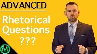 English Lesson | Rhetorical Questions