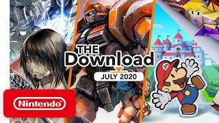 Nintendo The Download - July 2020 - Paper Mario: The Origami King, Panzer Paladin & More! anuncio