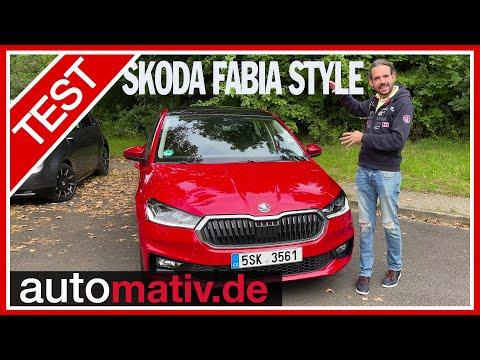 "Neuer Skoda Fabia ""Style"" (1.0 TSI, 110 PS): Cleverster Kleinwagen EVER?! - Fahrbericht, Review"