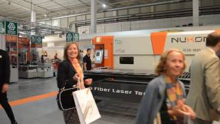 Nukon Fiber Laser Cutting Machines at Technical Fair 2016