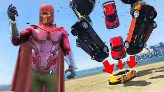 ULTIMATE MAGNETO MOD!! (GTA 5 Mods)