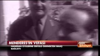 Adnan Menderes'in Sultan Abdülhamid'e vefası