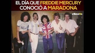 El día que Maradona conoció a Freddie Mercury | DIEZ