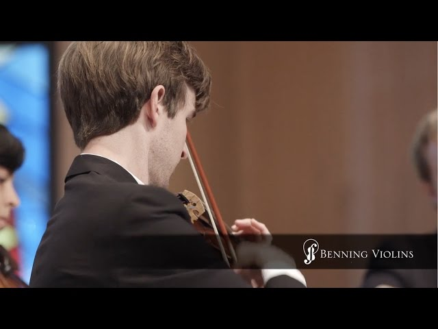 "Violinist Alex Granger Performs ""Veil of Leaves"" on a Violin Crafted by Violinmaker Eric Benning"