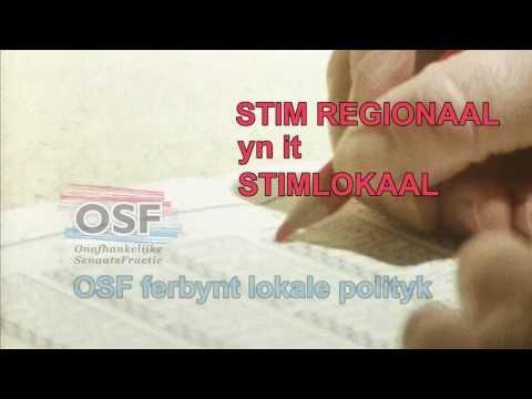 Fryslân: Lannelike TV-spot - stim lokaal, stim regionaal, stim FNP !
