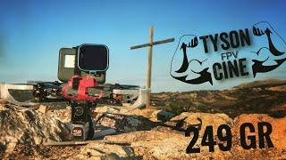 Tyson cine fpv 249 gr no naked go pro castle cinematic