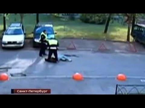Факт жестокого избиения сотрудниками ДПС задержанного расследует полиция Петербурга