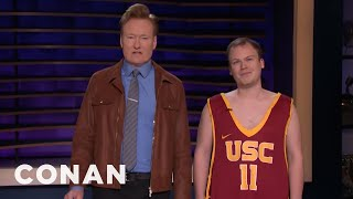Conan Interviews A Student Who Definitely Bribed His Way Into College - CONAN on TBS