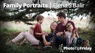 Photo Tip Friday: Elena S. Blair Natural-looking Family Photography