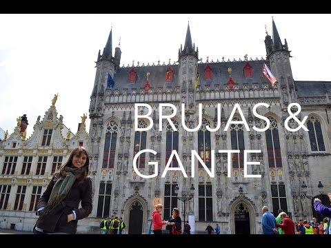 Brujas y Gante en un día - Dos Españoles por el Mundo