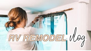 HOW TO DIY CURTAINS | RV REMODEL + BUDGET FRIENDLY