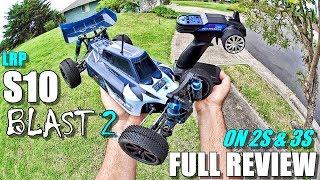 LRP S10 Blast 2 Review - 4x4 Purpose Built Race Buggy - (Unbox, Inspection, BASH/Jump/Crash Test!)