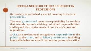 Auditing and Assurance Services Chapter 4 (Professional Ethics)