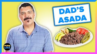Mexican Dads Try Each Other's Carne Asada