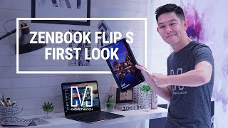 ASUS ZenBook Flip S Hands-On: World's Thinnest Convertible