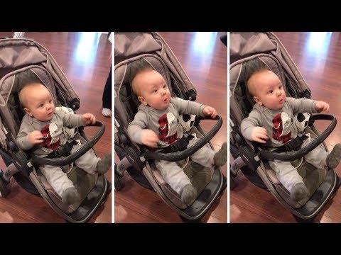 Реакция малыша на фен