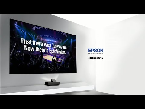 Epson EpiqVision Ultra LS500 Laser Projection TV | 4K PRO-UHD