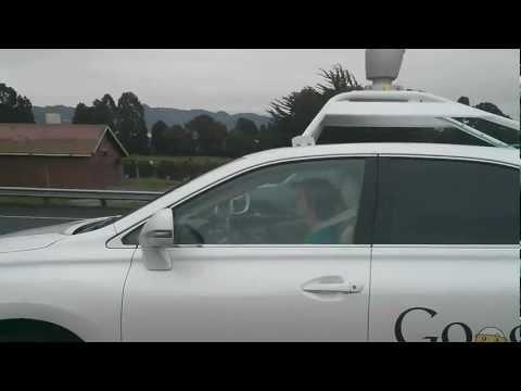 Spooky Google Car Drives Itself