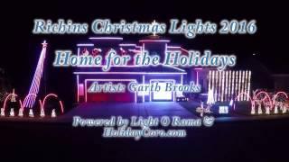 Richins Christmas Lights 2016 - Home for the Holidays