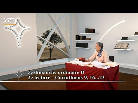 5e dimanche ordinaire B - 2e lecture