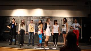 """Hot Knife"" by Fiona Apple - DeCadence A Cappella Fall 2014"