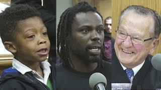 Er erklärt seinen Vater für Schuldig - Die Reaktion des Richters ist grandios!