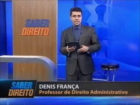 Direito Administrativo – Prof. Denis França (aula 1)