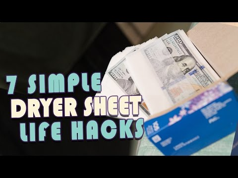 7 Uses for Dryer Sheets