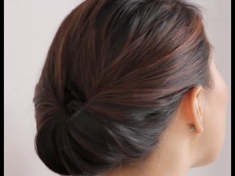 Our Favorite 5-Minute Holiday Updo Hairstyle