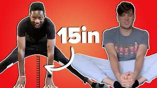 Men Try To Master The Splits In A Week