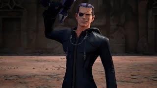Kingdom Hearts III - Xigbar & Dark Riku Boss Fight No Damage (Proud Mode)