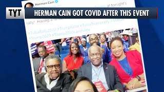Karma Comes For Herman Cain, Hospitalized with Coronavirus After Trump Rally thumbnail
