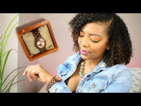 JORD WOOD WATCH REVIEW & GIVEAWAY!