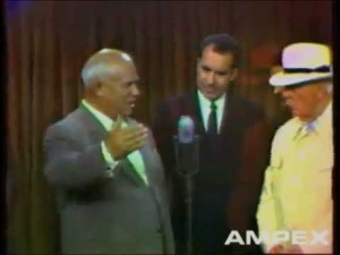 Хрущев и Никсон, 24 июля 1959 г