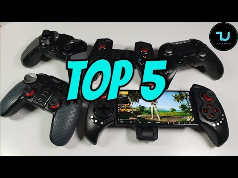 TOP 5 Gamepads for smartphones/tablets! Android/iOS 2019 edition