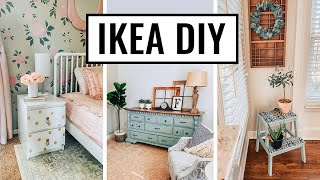 DIY IKEA Hacks 2020 - Easy And Affordable Home Decor - Farmhouse Decorating Ideas