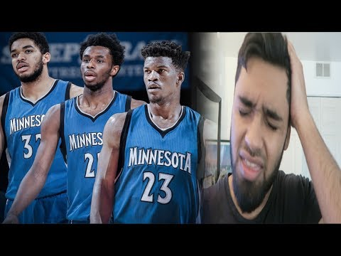 JIMMY BUTLER TRADED TO THE TIMBERWOLVES! DIE HARD BULLS FAN REACTION!!