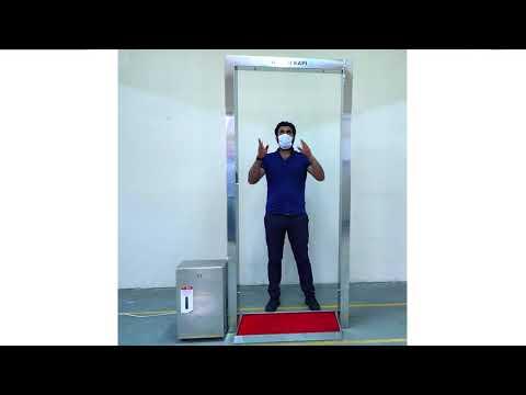 Hijyen Kapı ve Dezenfektan Giriş Sistemi