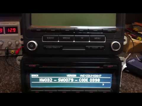 How to find Unlock code RCD310,RCD510 210 RNS315,310,300 VW