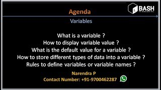Complete Shell Scripting Tutorials   Introduction to variables
