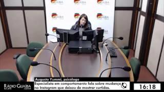 Entrevista Rádio Guaíba sobre o Instagram